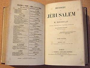 Histoire De Jérusalem.: POUJOULAT (Jean-Joseph François).