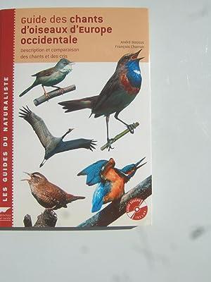Guide des Chants D'Oiseaux D'Europe Occidentale. Description: Bossus (André) Et
