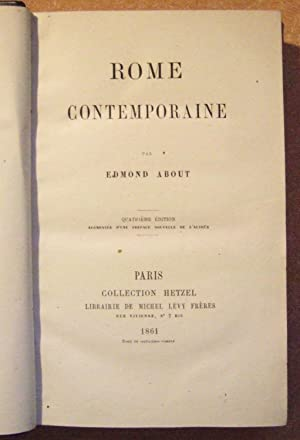 Rome Contemporaine: ABOUT (Edmond)