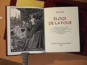 Eloge De La Folie: Erasme
