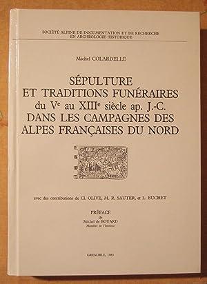 Sépultures et Traditions Funeraires Du Ve Au XIIIe Siecle ap. J.-C. Dans Les Campagnes Des ...