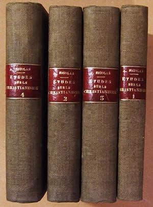 Etudes philosophiques sur le christianisme.: NICOLAS (Auguste)