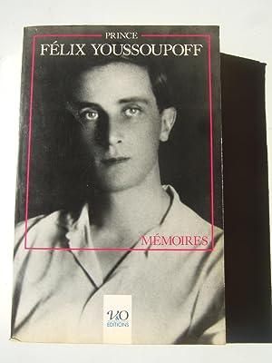 Memoires: Youssoupoff (prince Felix)