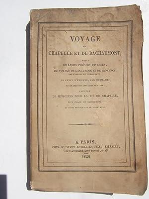 Voyage de Chapelle et de Bachaumont Suivi: Chapelle et Bachaumont
