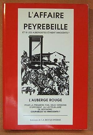 L'affaire Peyrebeille: L'auberge rouge: D'ALBIGNY (Paul)