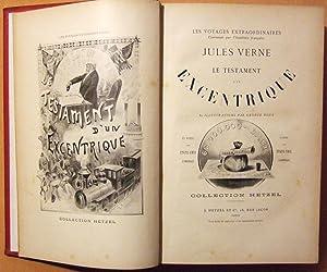 Le Testament d'un Excentrique.: Verne (Jules)