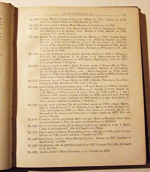 Souvenir Des Familles et Histoire De Vonnas: Manigand (antoine)