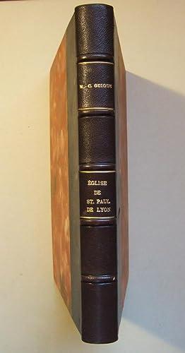 Polyptique de l'église collégiale de Saint-Paul de Lyon. Dénombrement de ...