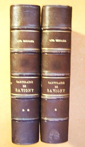 Cartulaire de l'abbaye de Savigny. Suivi du petit cartulaire de l'abbaye d'Ainay.: ...