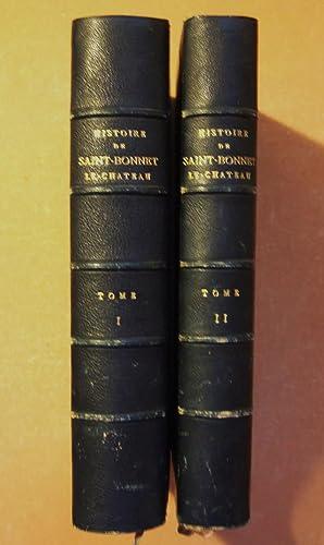 Histoire De Saint-Bonnet Le-Chateau (2 vol.): Deux Pretres Du Diocese De Lyon. ( En Collaboration ...