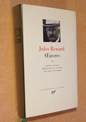 Oeuvres - Tome 2: RENARD (Jules)
