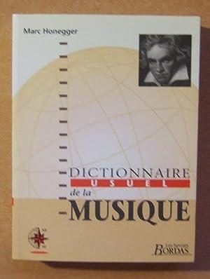 Dictionnaire usuel de la Musique.: HONEGGER (Marc)