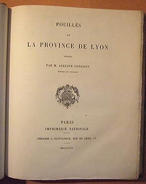 Pouillés de la Province de Lyon.: LONGNON ( Auguste )