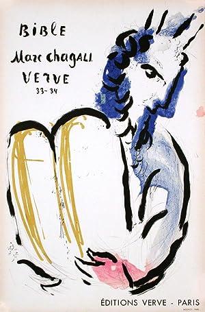 MOISE: MARC CHAGALL