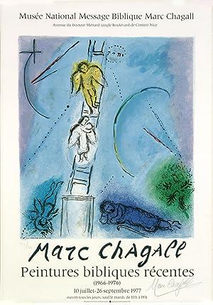 L'ECHELLE DE JACOB: MARC CHAGALL
