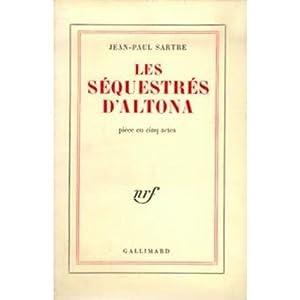 Les séquestrés d'Altona 2019-2316: Sartre