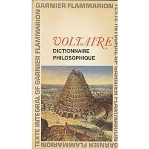 Dictionnaire philosophique 2020-573 Garnier 1964 BE 1: Voltaire