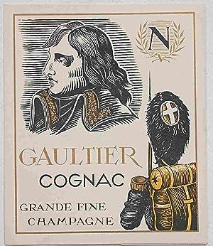 Gaultier Cognac. Grande fine Champagne.: ANONIMO