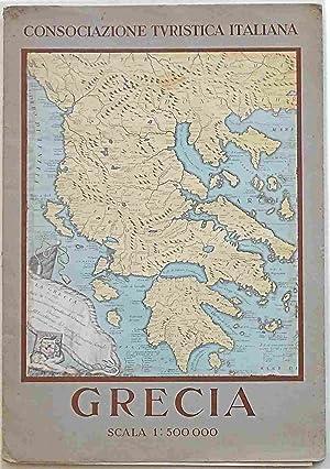 Carta geografica) Grecia.