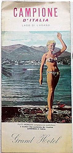 Campione d'Italia. Lago di Lugano. Grand Hotel.: ANONIMO