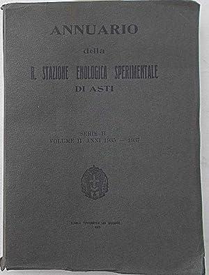 Annuario della R. Stazione Enologica Sperimentale di Asti.: AA.VV.