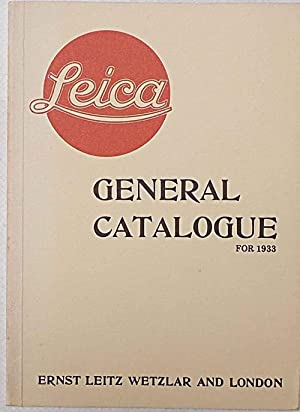 Leica. General catalogue for 1933.