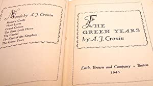 The Green Years: A. J. Cronin