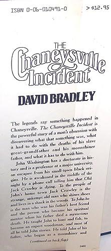 The Chaneysville Incident: David Bradley