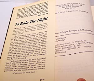To Rule The Night: James Irwin