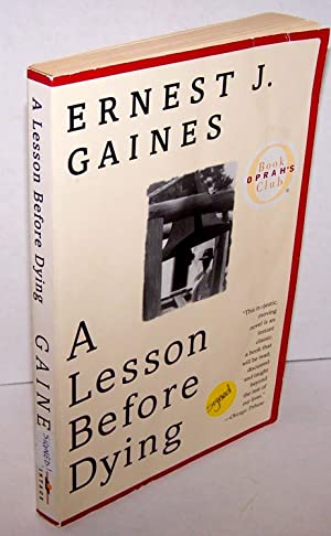 an analysis of a lesson before dying a book by ernest j gaines Immediately download the a lesson before dying summary, chapter-by-chapter analysis, book notes, essays  in ernest j gaines' novel, a lesson b.