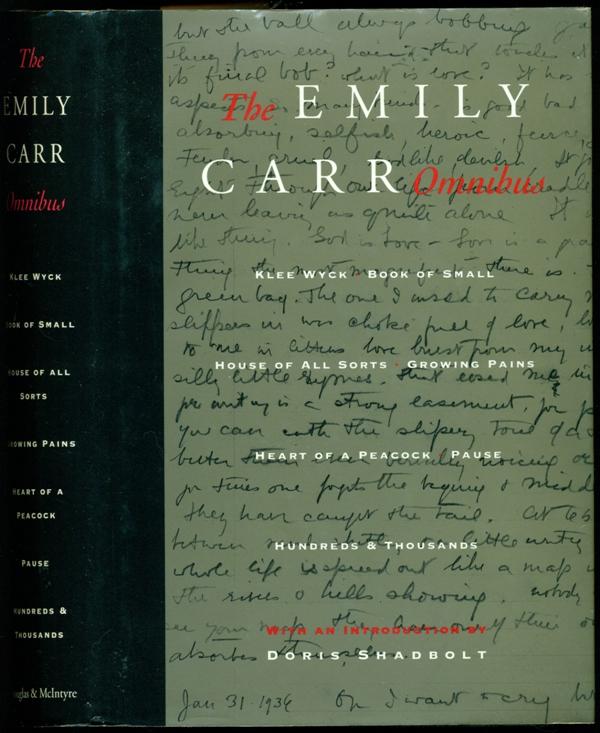 The Emily Carr Omnibus - Carr, Emily; Shadbolt, Doris - Introduction