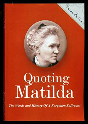 Quoting Matilda: The Words and History of: Savion, Susan