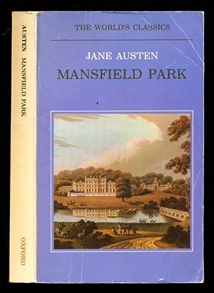 Mansfield Park - The World's Classics: Austen, Jane; Kinsley,