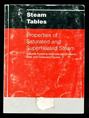 Steam Tables - Properties of Saturated and