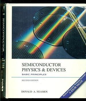 Semiconductor Physics & Devices - Basic Principles: Neaman, Donald