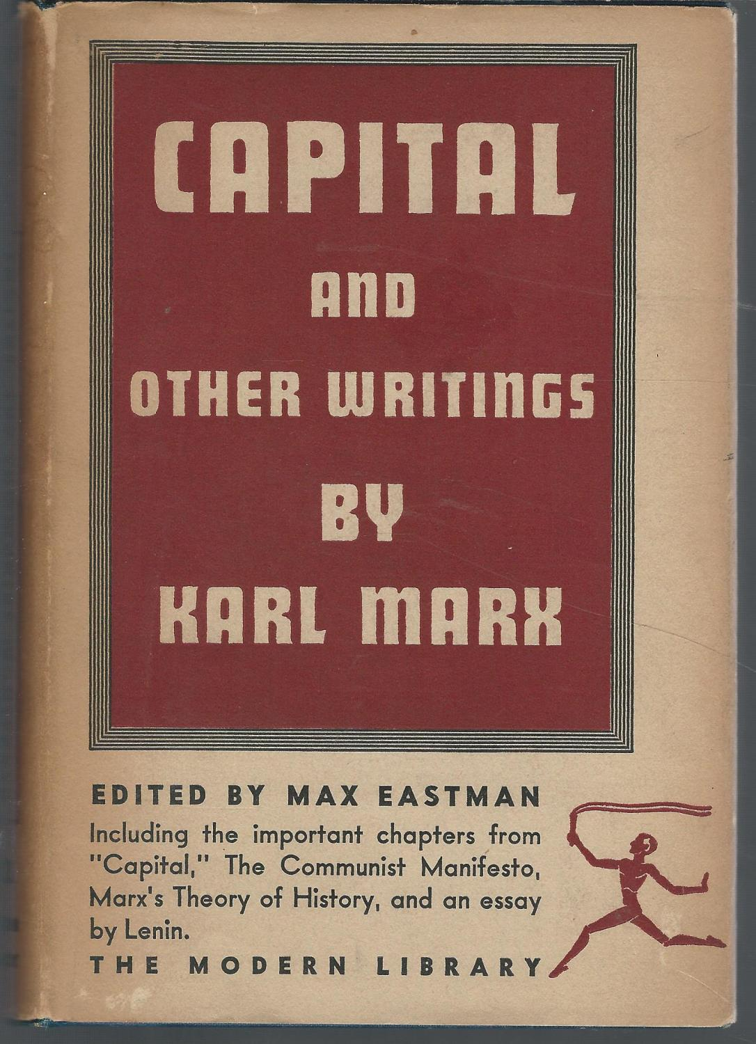 capital by karl marx first edition