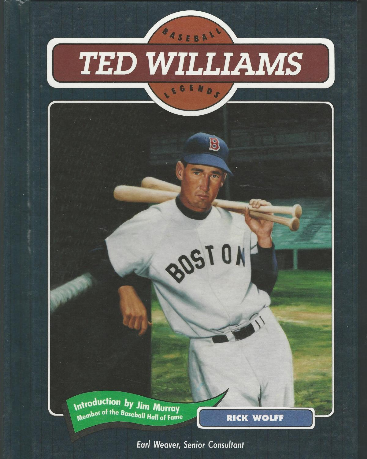new style d43e9 0f74f Ted Williams (Baseball Legends Series)