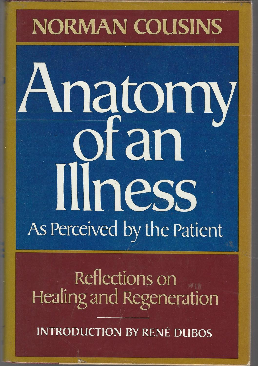 Anatomy of an Illness As Perceived By the Patient: Reflections of ...