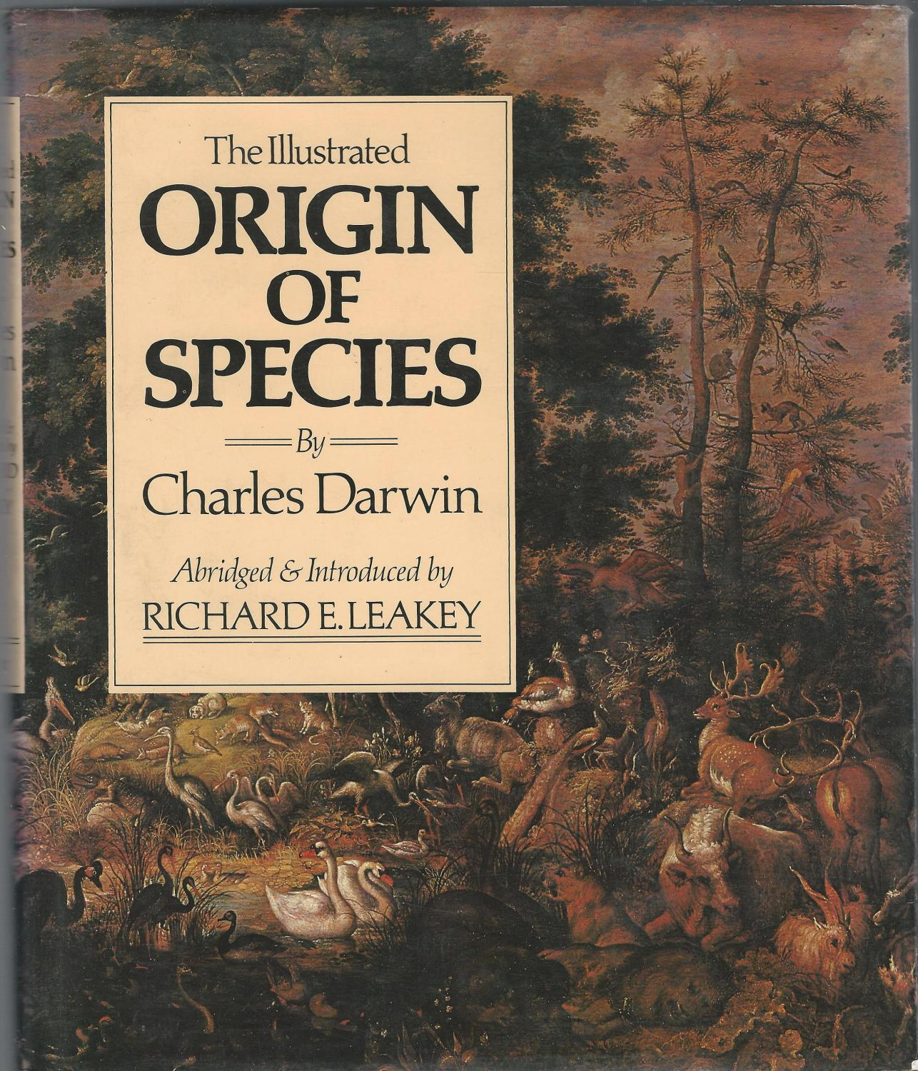 The Illustrated Origin Of Species By Charles Darwin Abridged By Richard E  Leakey  Abebooks