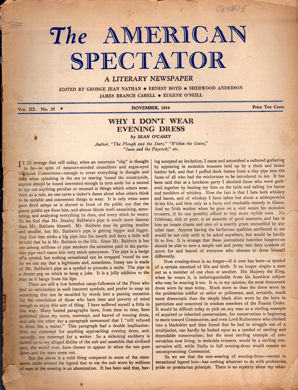 Kindle Vs Sony Reader: The American Spectator: A Literary Newspaper. Volume III