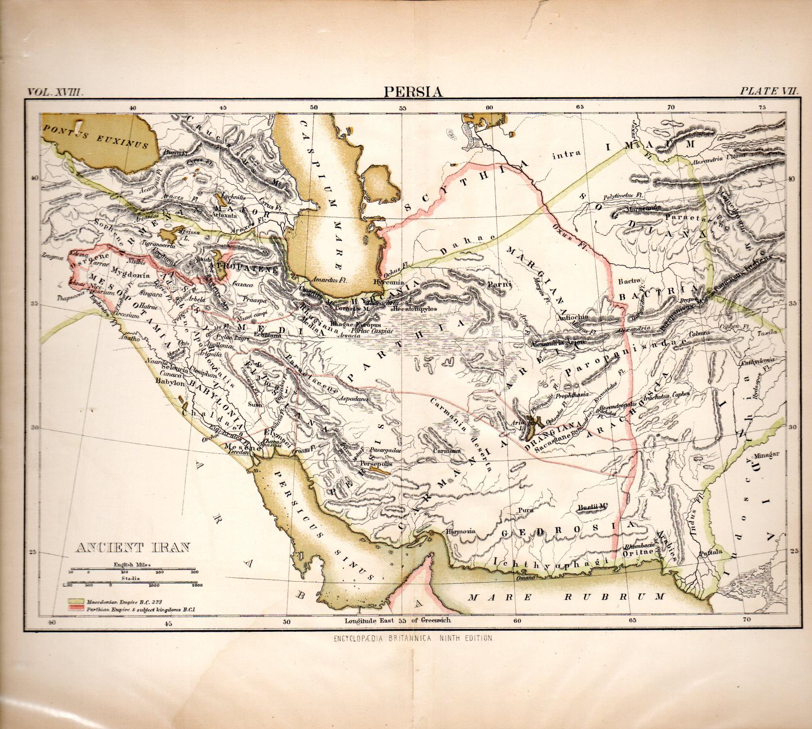 MAP: \'Persia (Ancient Iran)