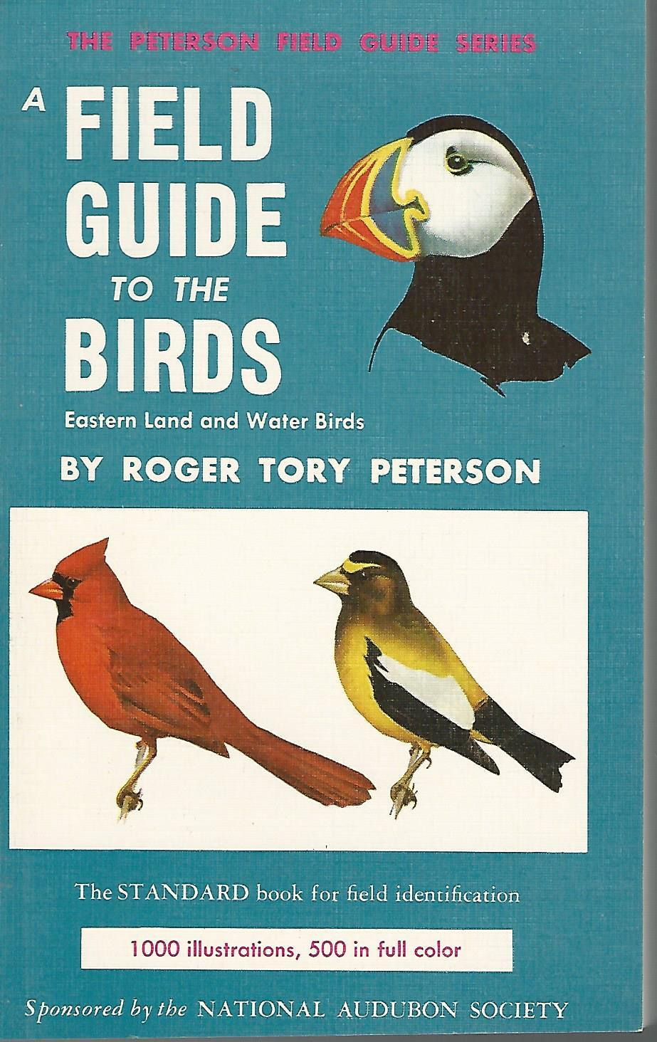 field guide to birds by tory peterson abebooks
