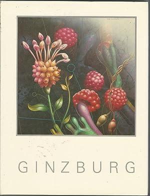 Ginzburg [Signed by Artist]: Ginzburg, Yankel