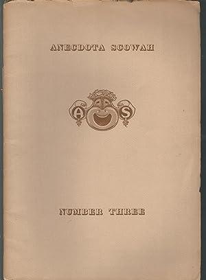 Anecdota Scowah Number Three: The Ancient Greeks & Joe Miller: Rapp (Albert)