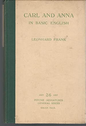Carl and Anna in Basic English (Psychic Minatures General Series No. 32): Frank, Leonard