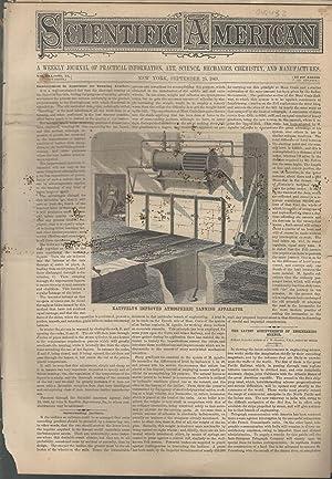 Scientific American: A Weekly Journal of Practical Information, Art, Science, Mechanics, Chemistry ...
