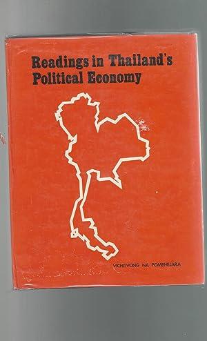 Readings in Thailand's Political Economy: Pombhejara, Vichitvong Na (editor)