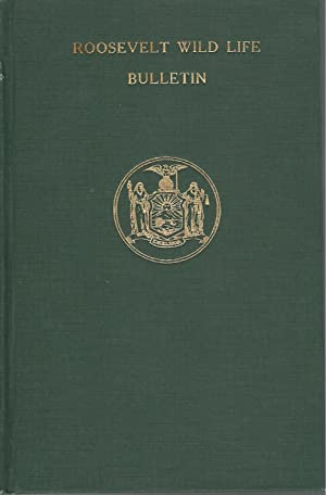 Roosevelt Wild Life Bulletin (Volume 2, No. 1-4) of the Roosevelt Wild Life Forest Experimental ...