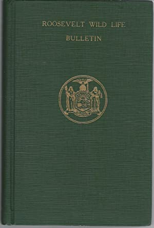 Roosevelt Wild Life Bulletin (Volume 7, No. 1) of the Roosevelt Wild Life Forest Experimental ...