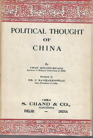 Political Thought of China: Chou Hsiang-Kuang